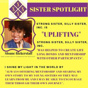 November Sister Spotlight: Sloane Bickerstaff – Strong